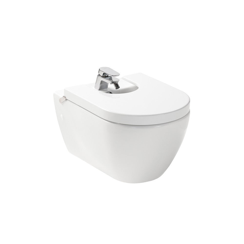 - Emma Wall hung Bidet for over rim water supply