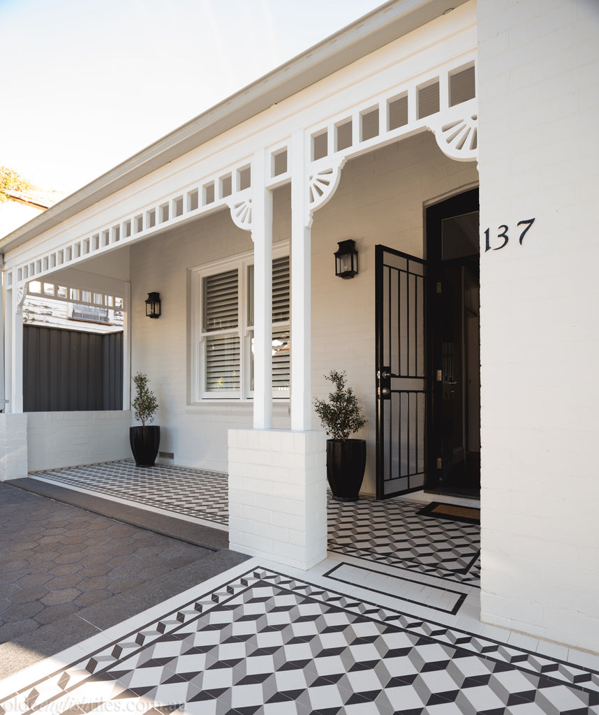 Gallery Verandah -  Federation Renovation in Drummoyne