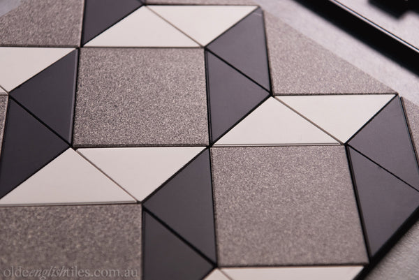 Tessellated Tiles Patterns Monochrome