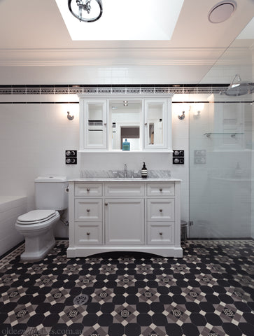 Classic bathroom on Sydney's North Shore