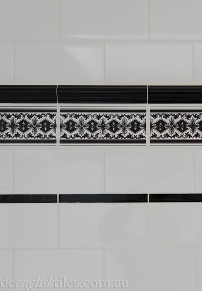 Subway Wall Tiles Classic bathroom on Sydney's North Shore