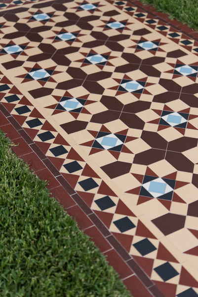 Tessellated Tiles Neutral Bay path