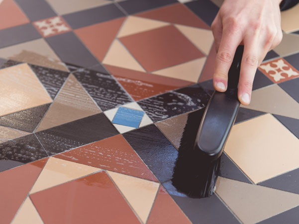 Cleaning Tessellated Tiles