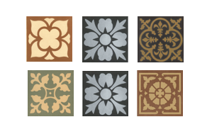 Olde English Federation Encaustic Tiles