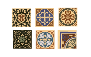 Olde English Victorian Encaustic Tiles