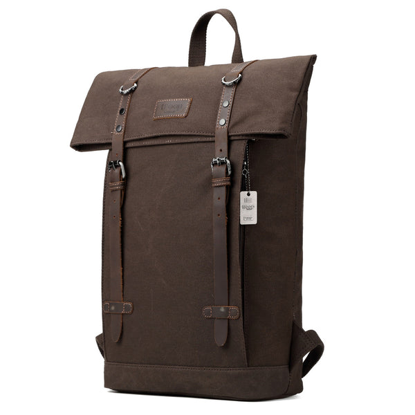 Edison Waxed Canvas Backpack