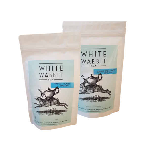 White Wabbit Sweet Ginger Loose Tea