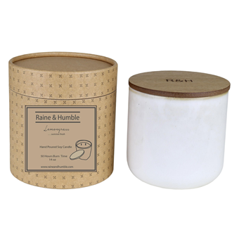 Scented Candle - Verbena & Lemongrass