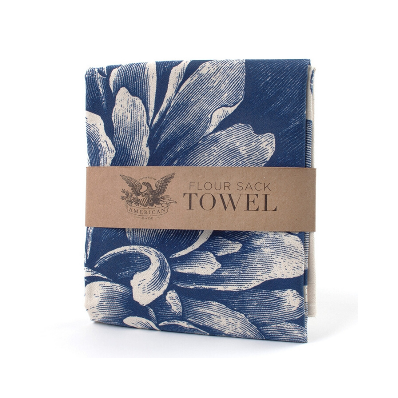 Flower Sack Tea Towel