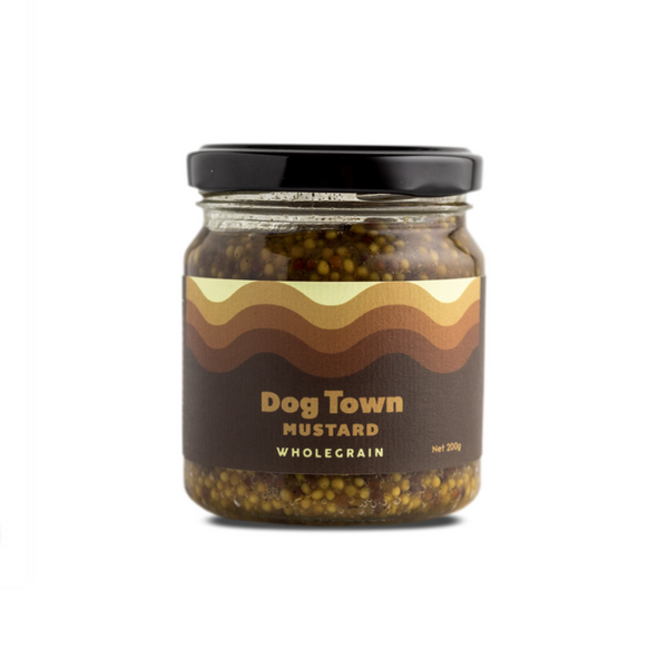 Dog Town Mustard - Wholegrain