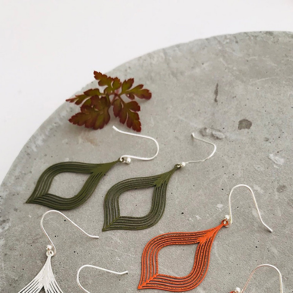 Autumn Droplet Earring
