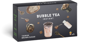 Boom Box 5 Instant Bubble Tea - Brown Sugar - Boomtea