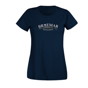 Braemar Gathering Classic Ladies Fitted T-Shirt