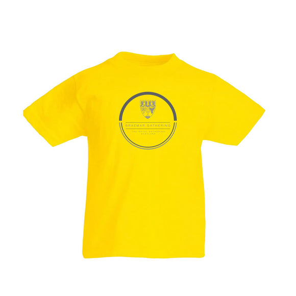 Kids Yellow Event T-Shirt