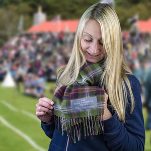 Braemar Gathering Official Tartan Scarf