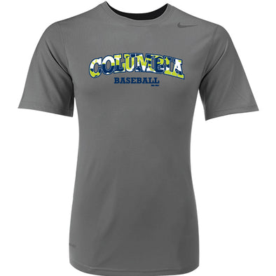 Columbia Fireflies Youth Grey Columbia Camp Tee