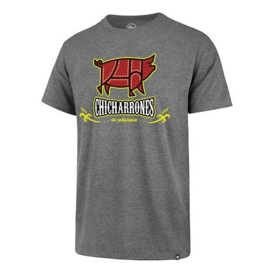Columbia Fireflies Adult Grey Copa Super Rival Tee