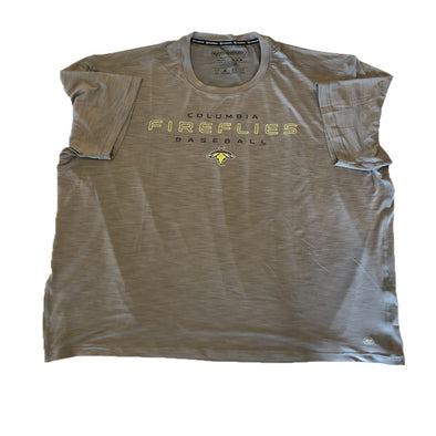Columbia Fireflies Adult Wolf Grey Shade Dri-Fit Tee