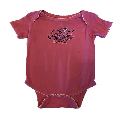Columbia Fireflies Infant Pink Ambrose Onesie