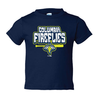Columbia Fireflies Toddler Navy Miz Tee