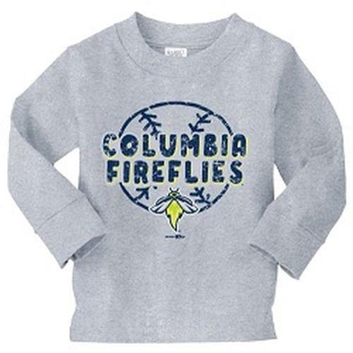 Columbia Fireflies Heather Toddler L/S Jeff Tee