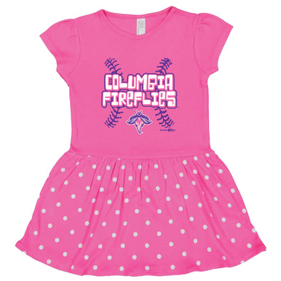 Columbia Fireflies Infant Pink Raspberry Dress