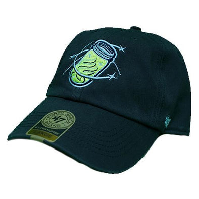 Columbia Fireflies Adult Grey Mason Jar Franchise Cap