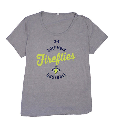 Columbia Fireflies Women's Grey Charged Tee