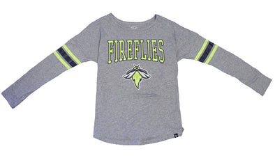 Columbia Fireflies Women's Heather Grey Courtside Tee