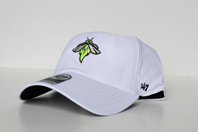 Columbia Fireflies Adult White Dri-Fit Cap