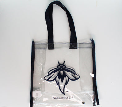 Columbia Fireflies Clear Stadium Bag