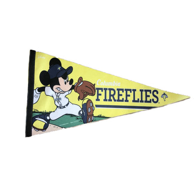 Columbia Fireflies Mickey Mouse Pennant