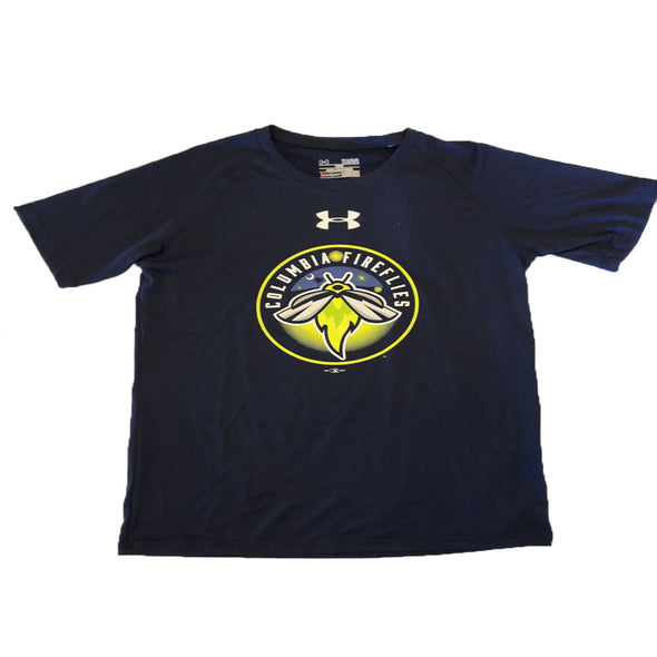 Columbia Fireflies Youth Navy Primary Tech Tee