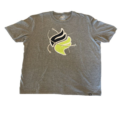Columbia Fireflies Adult Grey Knockout Fieldhouse Tee