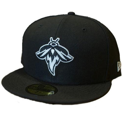 Columbia Fireflies Adult Black Glow Fitted Cap
