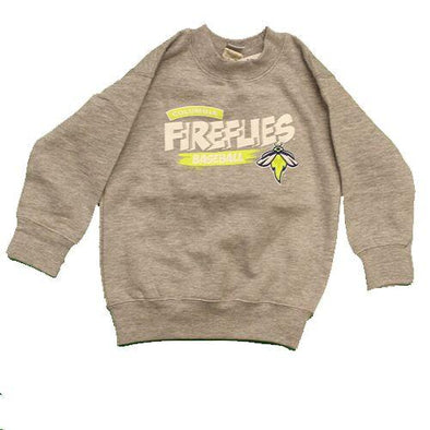 Columbia Fireflies Toddler Grey Hamburg Crewneck Sweatshirt