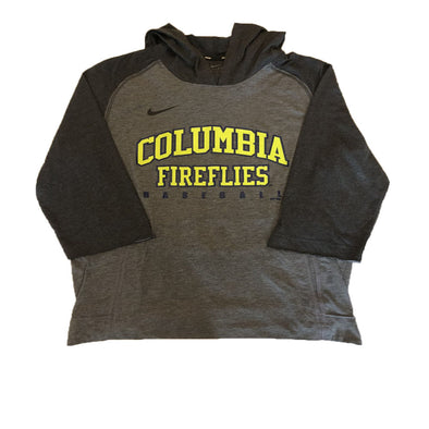 Columbia Fireflies Adult Charcoal 3/4 Flux Hoodie