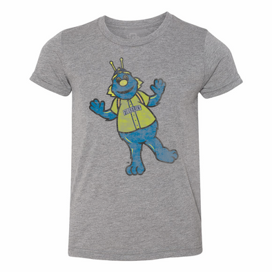 Columbia Fireflies Youth Grey Mascot Tee