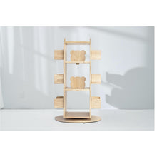 Load image into Gallery viewer, MesaSila Revolving Solid Wood Bookcase - Australian Addresses only
