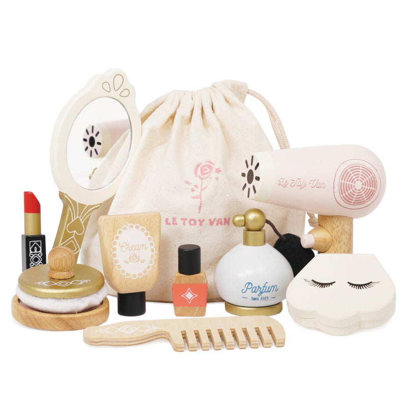 Wooden Vanity beauty set - Ready to ship