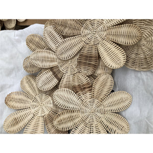 READY TO SHIP - 🌼 RATTAN WILDFLOWERS 🌼 - SET OF 8