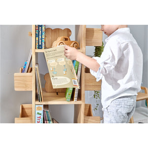 MesaSila Revolving Solid Wood Bookcase - Australian Addresses only