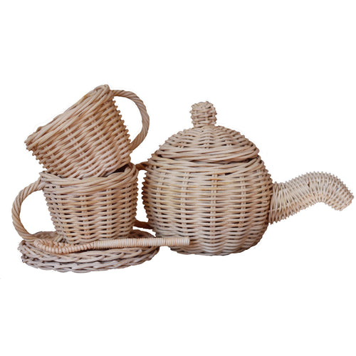 'LIL SIPPERS' TEA SET- 7 PC SET - READY TO SHIP