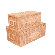 Load image into Gallery viewer, READY TO SHIP Storage Chest set of two