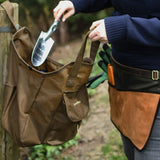 Waxed Cotton Gardening Tool Bag