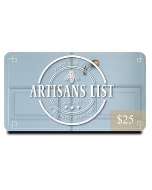 Artisans List eGift Card LogoCard