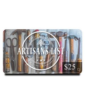 Artisans List eGift Card