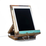 Salvaged Wood Cookbook & Tablet Stand