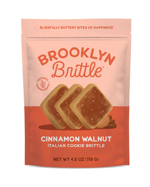Brooklyn Brittle, Cinnamon Walnut