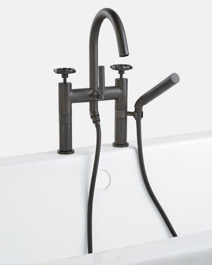 Tolson Deck Mounted Tub Filler with Hand Shower